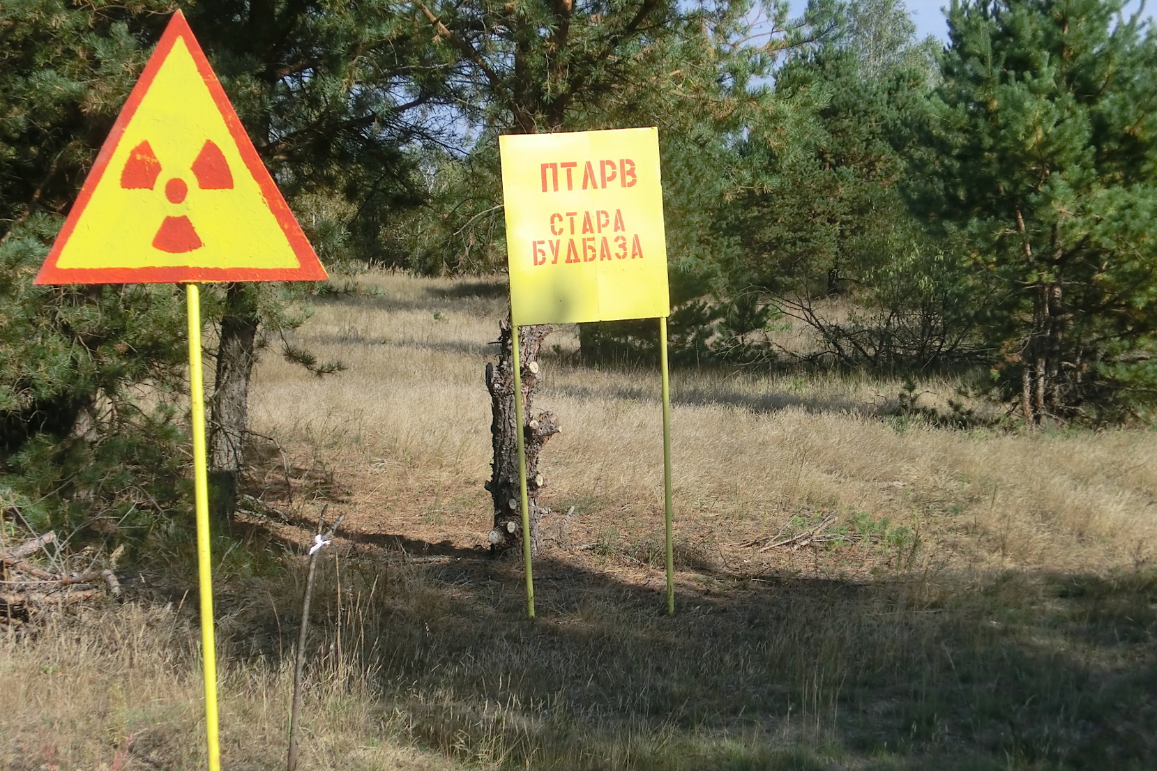 The Institute of Radioecology and Radiation Protection deals with detection and specification of radionuclides in the environment, as well as risk assessment for humans. Image: contaminated areas around the Chernobyl nuclear power plant (photo: Walther)
